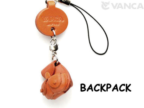 BACKPACK LEATHER CELLULARPHONE CHARM GOODS