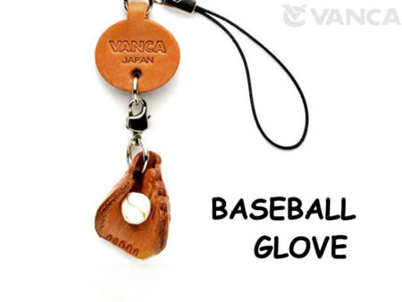 BASEBALL GLOVE LEATHER CELLULARPHONE CHARM GOODS