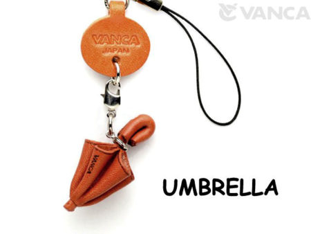 UMBRELLA LEATHER CELLULARPHONE CHARM GOODS