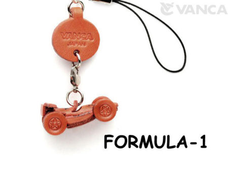 F-1 LEATHER CELLULARPHONE CHARM GOODS