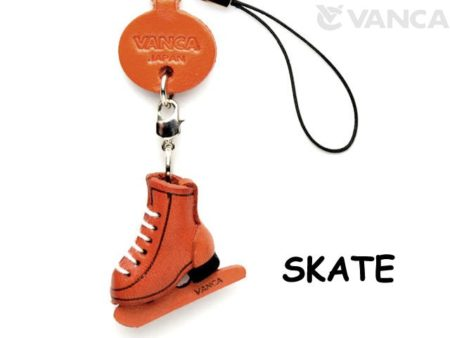 SKATES LEATHER CELLULARPHONE CHARM GOODS
