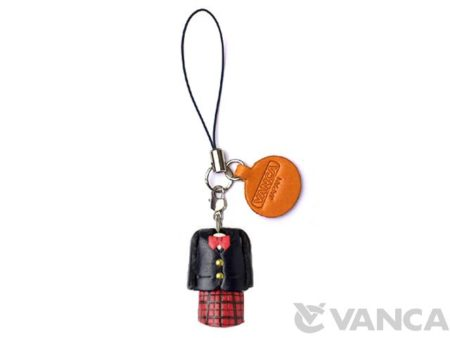 UNIFORM GIRLS BLAZER SUIT LEATHER GOODS PHONE CHARM
