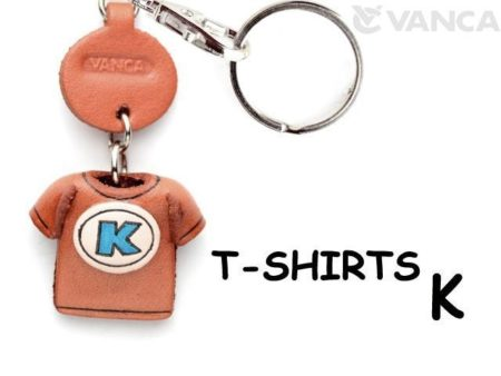 K(BLUE) LEATHER KEYCHAINS T-SHIRT