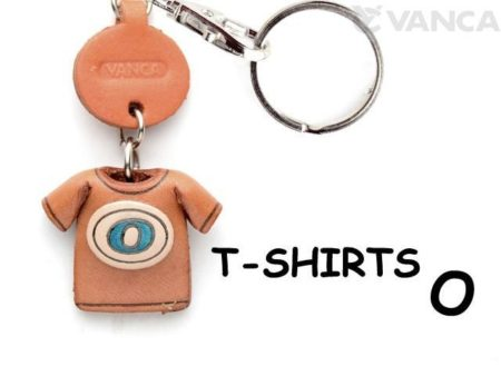 O(BLUE) LEATHER KEYCHAINS T-SHIRT