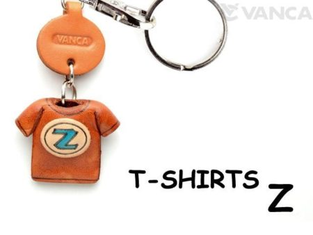Z(BLUE) LEATHER KEYCHAINS T-SHIRT