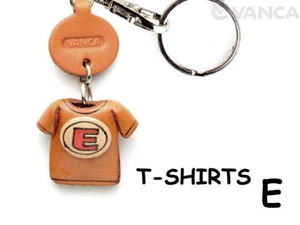 E(RED) LEATHER KEYCHAINS T-SHIRT