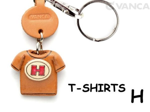 H(RED) LEATHER KEYCHAINS T-SHIRT