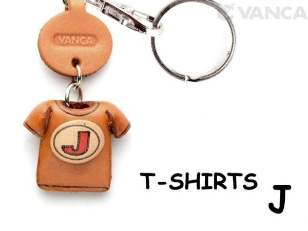 J(RED) LEATHER KEYCHAINS T-SHIRT