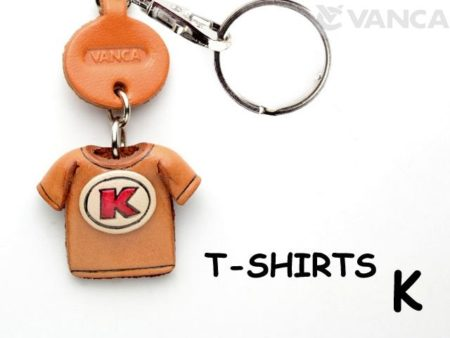 K(RED) LEATHER KEYCHAINS T-SHIRT