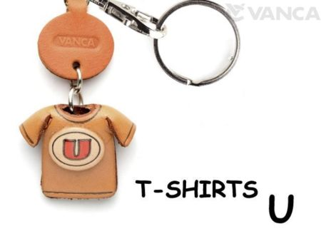 U(RED) LEATHER KEYCHAINS T-SHIRT