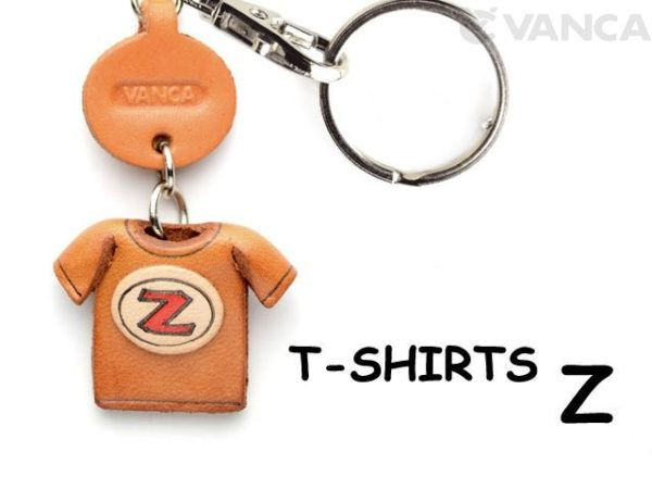 Z(RED) LEATHER KEYCHAINS T-SHIRT