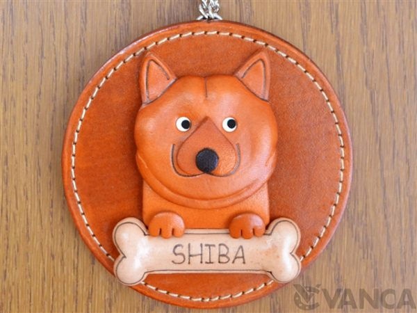 SHIBA LEATHER WALL DECO