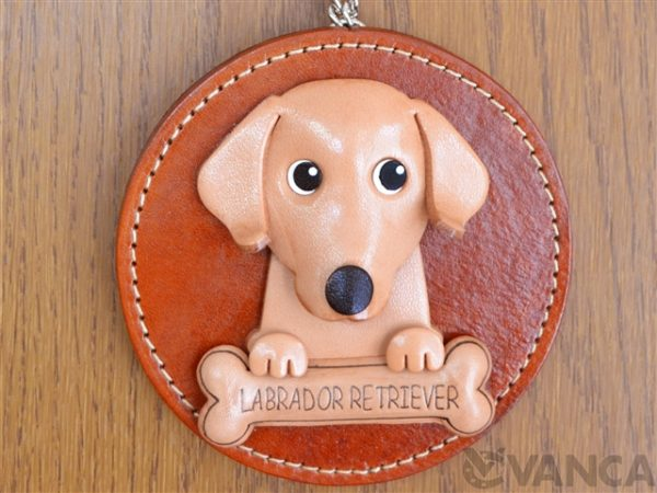 LABRADOR RETRIEVER LEATHER WALL DECO