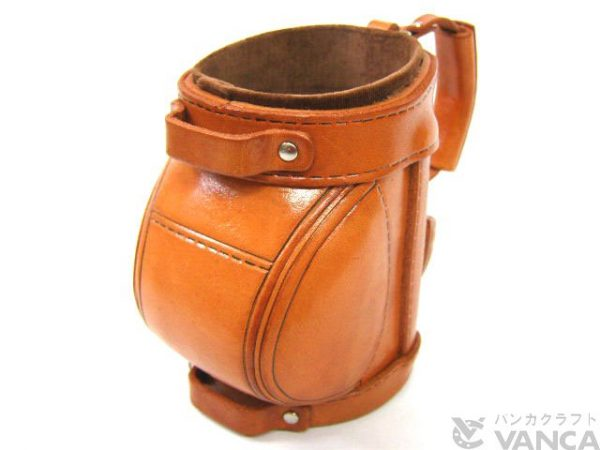 GOLF BAG HANDMADE LEATHER EYEGLASSES HOLDER/STAND