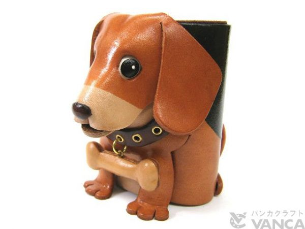 BEAGLE HANDMADE LEATHER DOG EYEGLASSES HOLDER/STAND