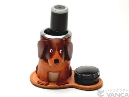 BEAGLE JAPANESE LEATHER SEAL STAND