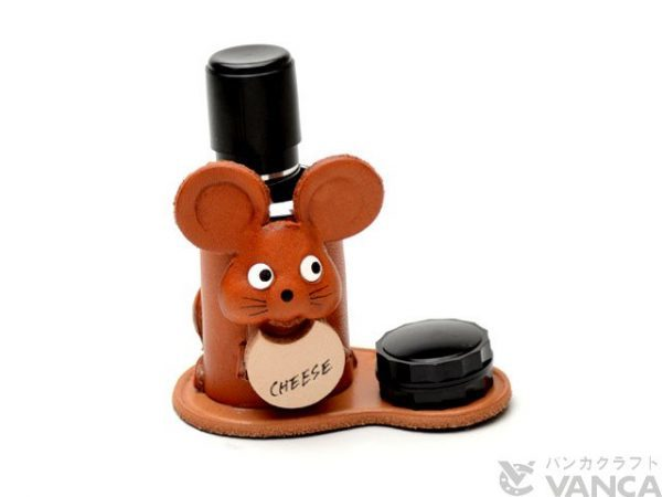 MOUSE JAPANESE LEATHER SEAL STAND