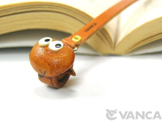 SNAKE HANDMADE LEATHER ANIMAL BOOKMARK/BOOKMARKER