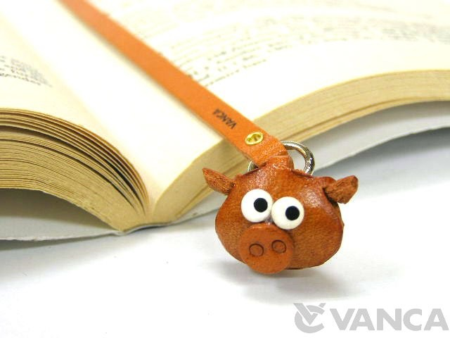 PIG LEATHER BOOKMARKER