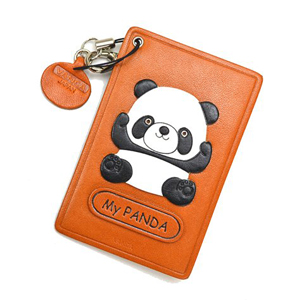 PANDA LEATHER COMMUTER PASS/PASSCARD HOLDERS