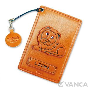 LION LEATHER COMMUTER PASS/PASSCARD HOLDERS
