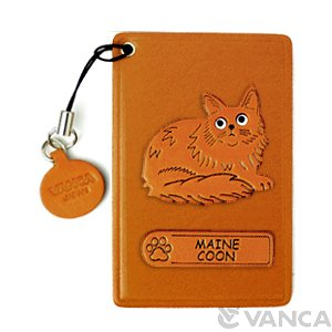 MAIN COON LEATHER COMMUTER PASS/PASSCARD HOLDERS
