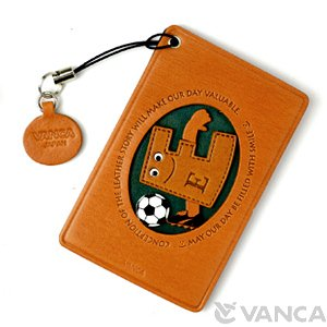 SOCCER-E LEATHER COMMUTER PASS/PASSCARD HOLDERS