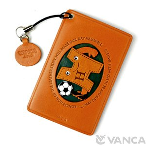 SOCCER-H LEATHER COMMUTER PASS/PASSCARD HOLDERS