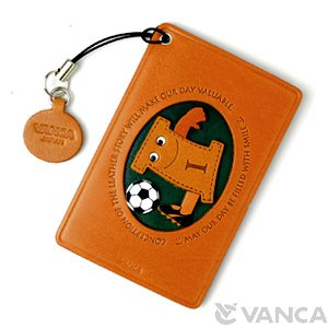 SOCCER-I LEATHER COMMUTER PASS/PASSCARD HOLDERS