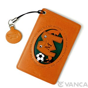 SOCCER-M LEATHER COMMUTER PASS/PASSCARD HOLDERS