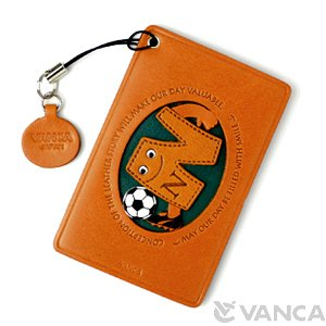 SOCCER-N LEATHER COMMUTER PASS/PASSCARD HOLDERS