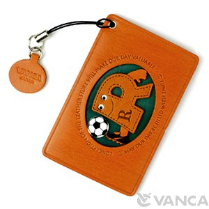 SOCCER-R LEATHER COMMUTER PASS/PASSCARD HOLDERS