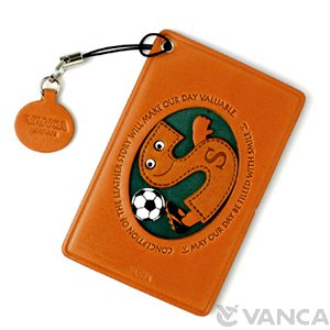 SOCCER-S LEATHER COMMUTER PASS/PASSCARD HOLDERS