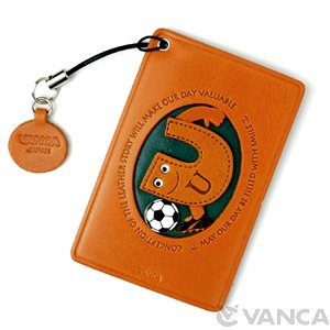 SOCCER-U LEATHER COMMUTER PASS/PASSCARD HOLDERS