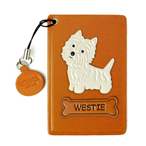 WESTIE LEATHER COMMUTER PASS/PASSCARD HOLDERS