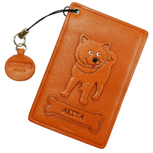 AKITA LEATHER COMMUTER PASS/PASSCARD HOLDERS