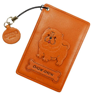 CHOWCHOWLEATHER COMMUTER PASS/PASSCARD HOLDERS