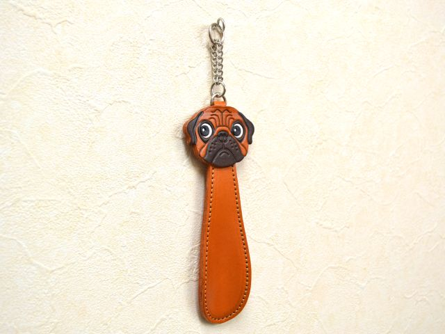 PUG DOG SHOEHORN GENUINE
