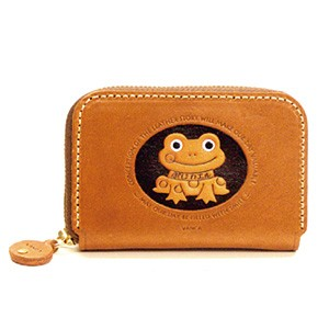 FROG GENUINE LEATHER ANIMAL BUSINESS CARD CASE