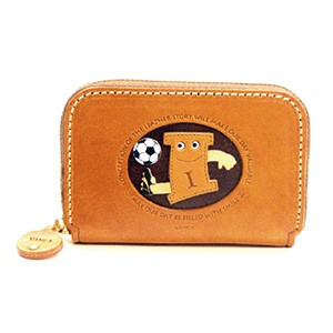 SOCCER I GENUINE LEATHER ANIMAL BUSINESS CARD CASE
