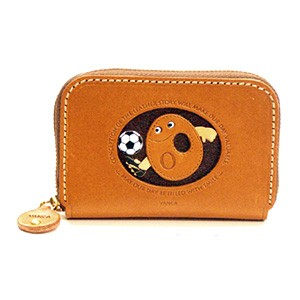 SOCCER O GENUINE LEATHER ANIMAL BUSINESS CARD CASE