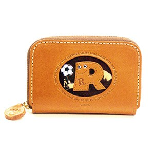 SOCCER R GENUINE LEATHER ANIMAL BUSINESS CARD CASE