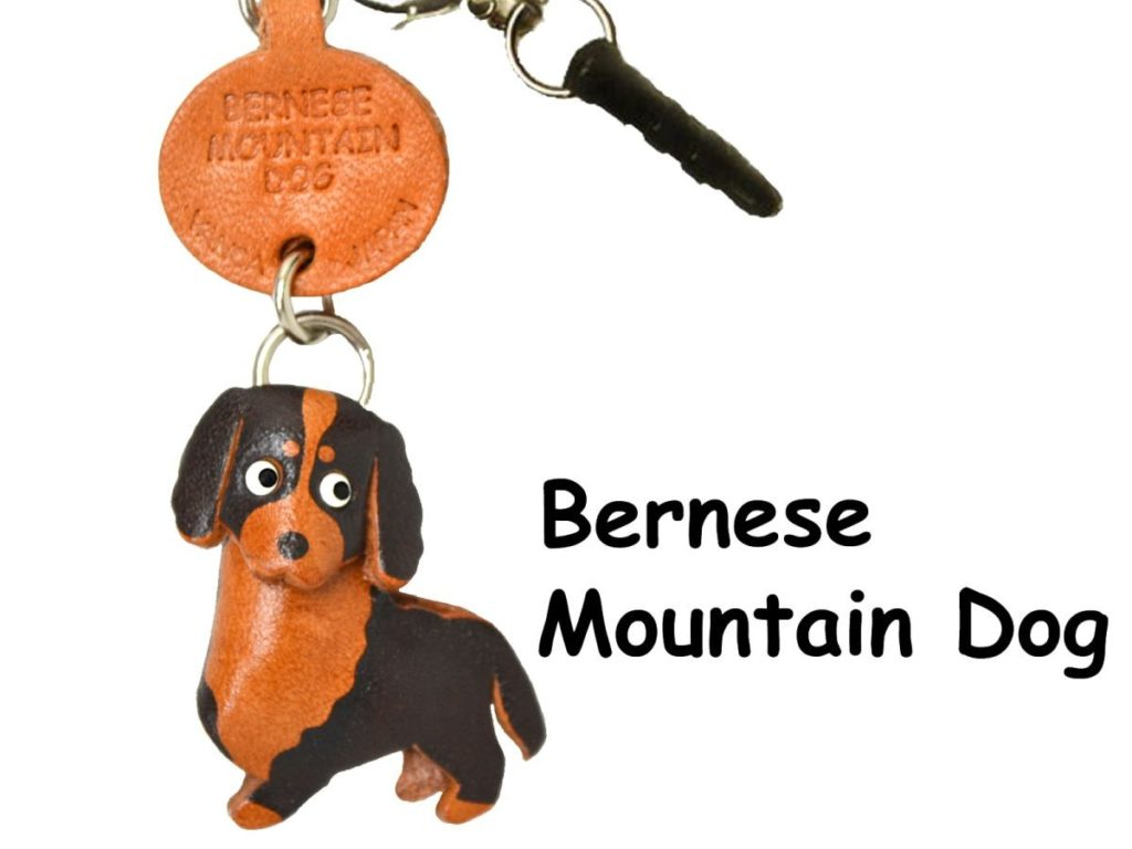 BERNESE MOUNTAIN DOG LEATHER DOG EARPHONE JACK ACCESSORY