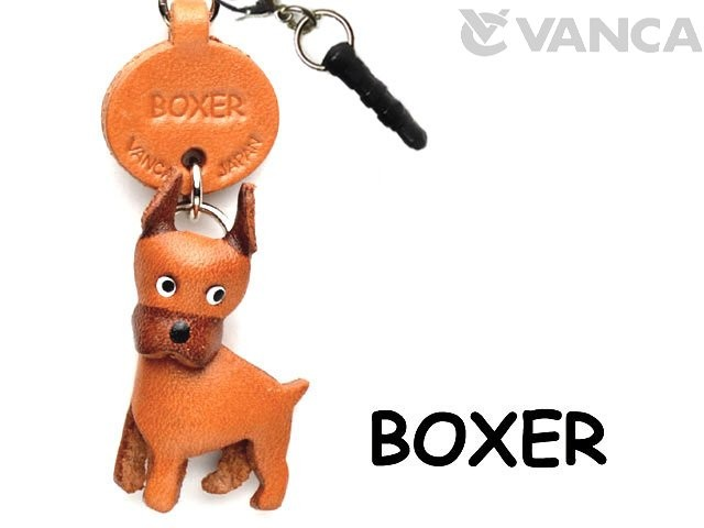 BOXER LEATHER DOG EARPHONE JACK ACCESSORY