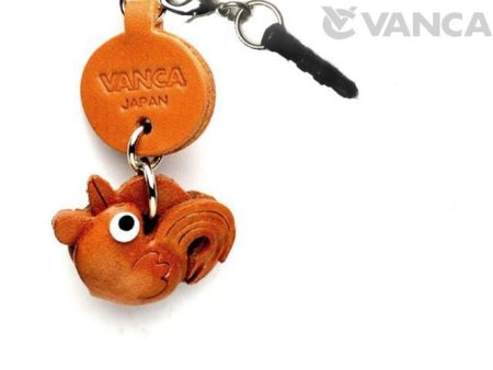 ROOSTER LEATHER LITTLE ANIMAL EARPHONE JACK ACCESSORY