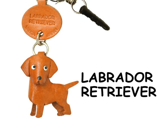 LABRADOR RETRIEVER LEATHER DOG EARPHONE JACK ACCESSORY