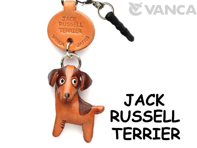 JACK RUSSELL TERRIER LEATHER DOG EARPHONE JACK ACCESSORY