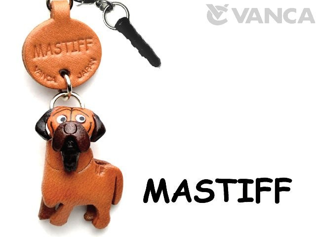 MASTIFF LEATHER DOG EARPHONE JACK ACCESSORY