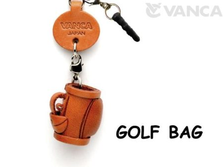 GOLF BAG LEATHER GOODS EARPHONE JACK ACCESSORY