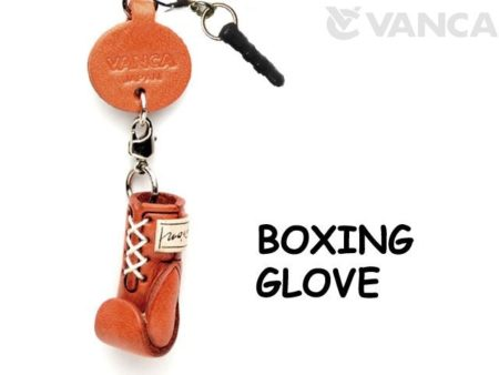 BOXING GLOVE LEATHER GOODS EARPHONE JACK ACCESSORY